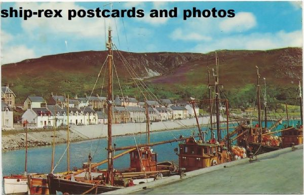 Ullapool (Ross-shire) postcard (f)